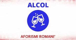 aforismi romani sull'alcol
