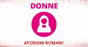 aforismi romani sulle donne