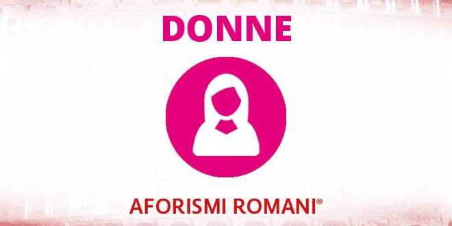 Aforismi Romani Donne