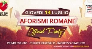 evento aforismi romani