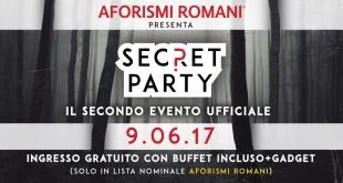 Partecipa al secret party di AR