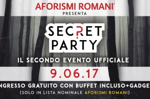 Partecipa al secret party di AR