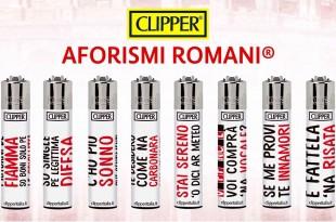 clipper gli accendini di aforismi romani limited edition