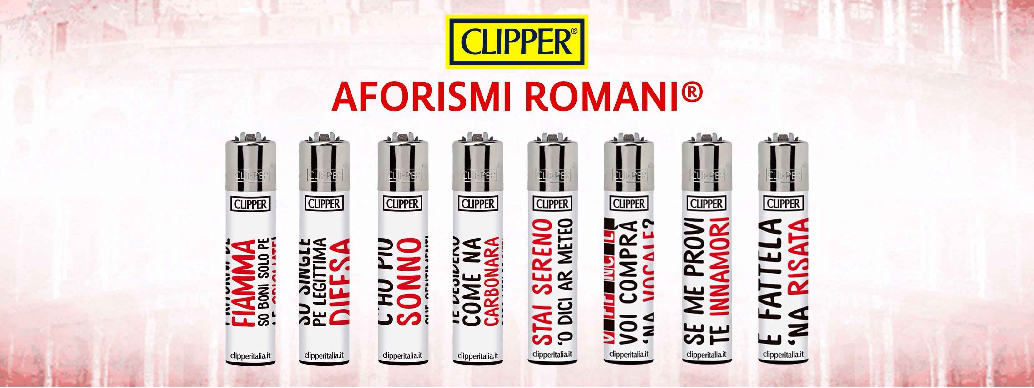 Aforismi Romani e Clipper in Limited Edition