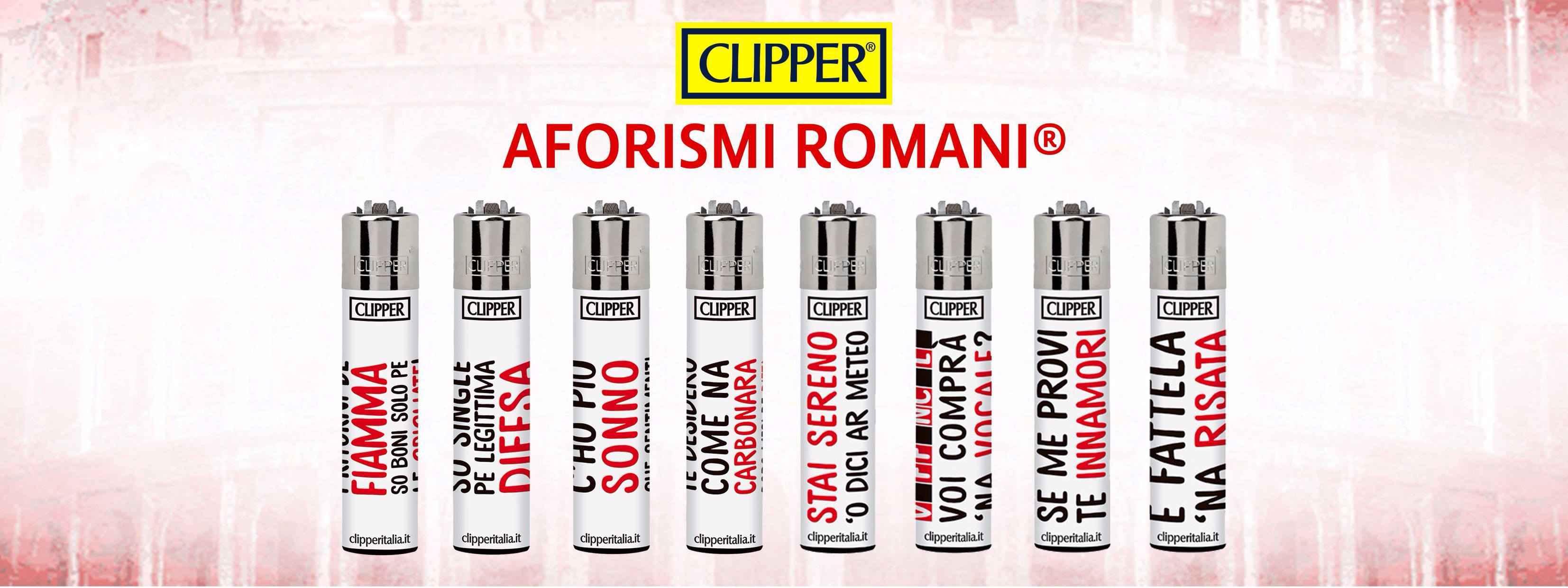 Aforismi Romani e Clipper in Limited Edition